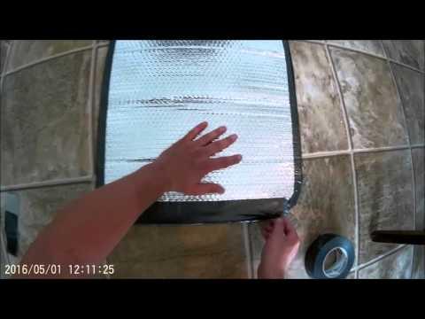 DIY insulated catch bag
