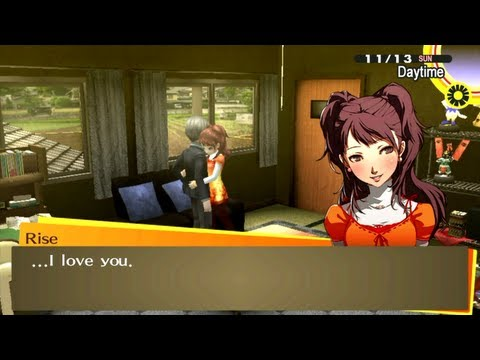 [HD] [PS Vita] Persona 4 Golden - Rise Kujikawa Social Link [Lovers]