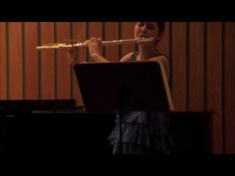 Nína Hjördís: Franck sonata 1. mov.