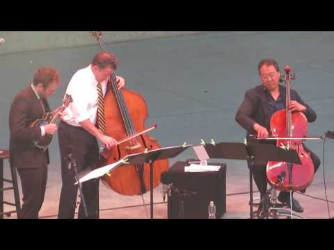 Chris Thile , Edgar Meyer, YoYo Ma  @ UC Berkley Greek Theater