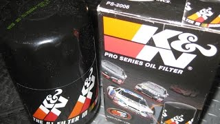 How To Change Engine Oil - K Engine Oil Filter and Synthetic Castrol 5W-30
