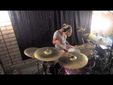 Lindsey Raye Ward - Paramore - Part II (Drum Cover)