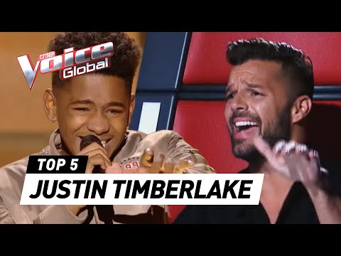 JUSTIN TIMBERLAKE in The Voice | The Voice Global
