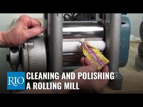 Ronda Coryell - Polishing rolling mill tip
