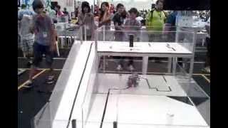 OBR 2013 - Etapa Nacional. Equipe WR Robots (Escola Walmor Ribeiro) na Arena 1
