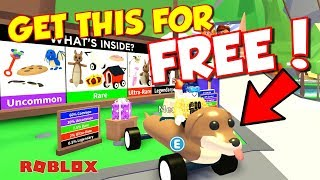 ROBLOX Adopt Me Update - 🎁NEW GIFTS🎁 and How to Get a Dogmobile for FREE! (Legendary)
