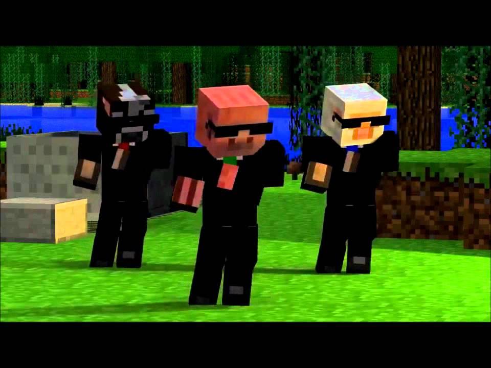 Green Kia Soul >> Party Rock Anthem-Minecraft Version - YouTube