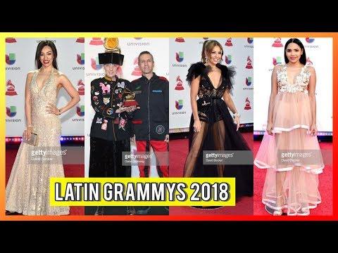 Mejor Y Peor Vestidos De Los LATIN GRAMMYS 2018 | RosyMcMichael - THALIA - Yarissa & MÁS