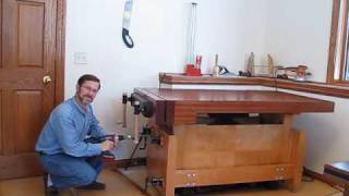 Adjusting Workbench With A Cordless Drill - Www.jack-bench.com