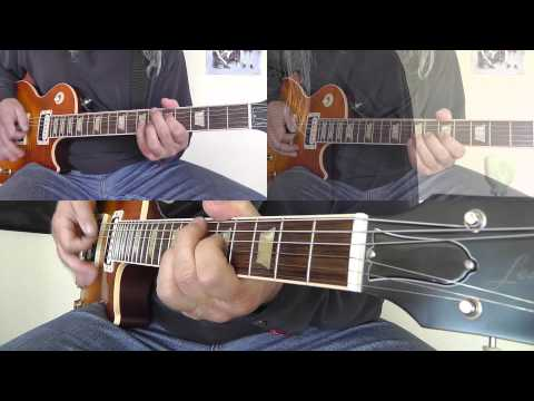 Krokus - Let The Good Times Roll - with Solo - cover by RhythmGuitarX