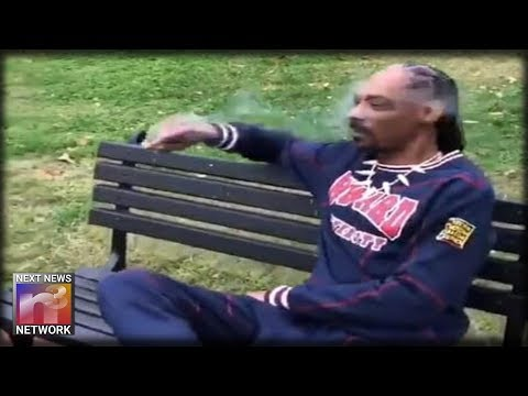 Rapper Snoop Dogg Smokes Blunt, Protests President Trump Outside White House Mp3