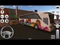 Coach Bus Simulator Travel To Barcelona 1000 KM | Game Simulator Android