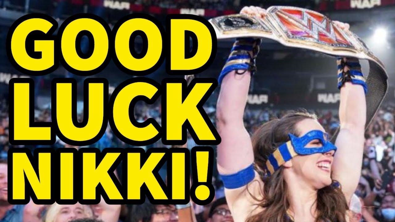 GOOD LUCK AT WWE SUMMERSLAM NIKKI A.S.H!