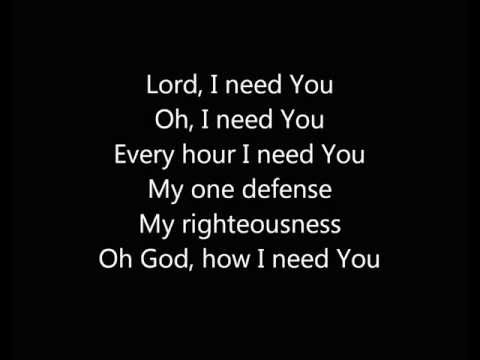 Lord Need You Instrumental Track