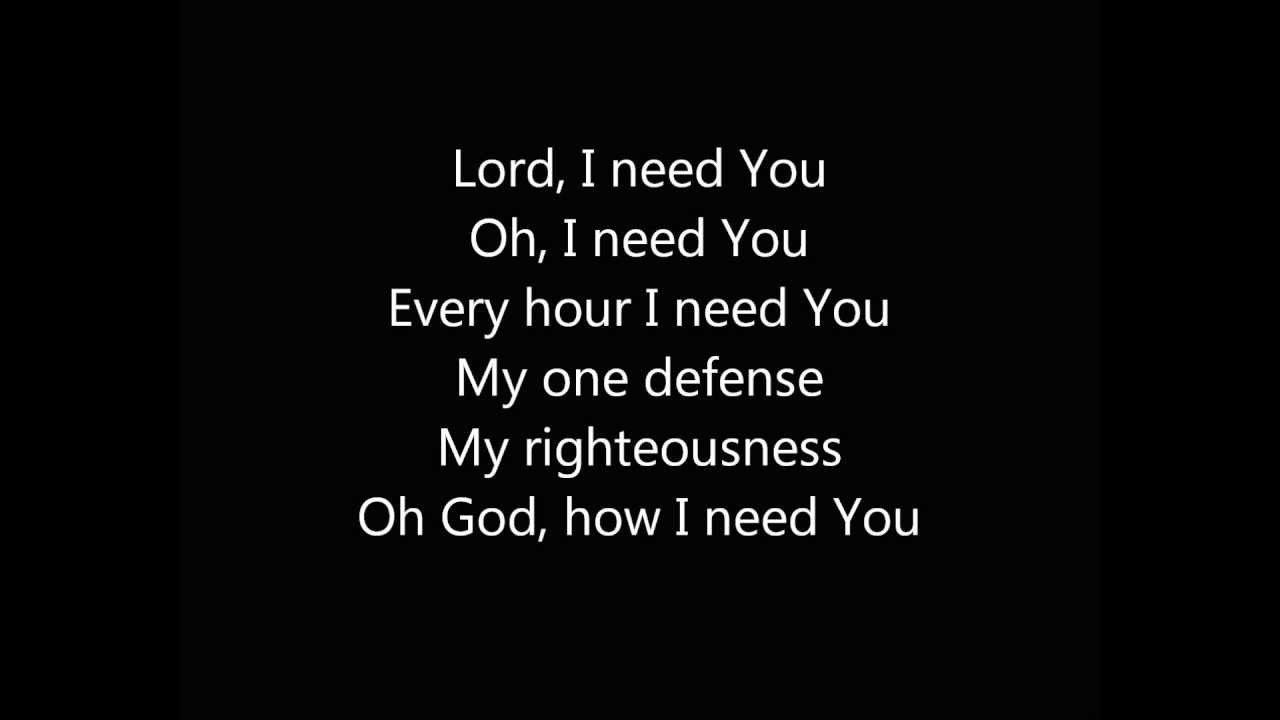 Lord I Need You Instrumental Track Youtube
