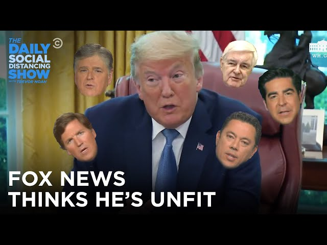 Fox News Doesn't Think This Man Is Fit to Be President | The Daily Show