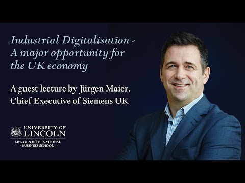 Industrial Digitialisation - A Major Opportunity for the UK Economy