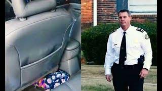 Полицейский оштрафовал мать-одиночку, но то, что он увидел в машине заставило его сделать это