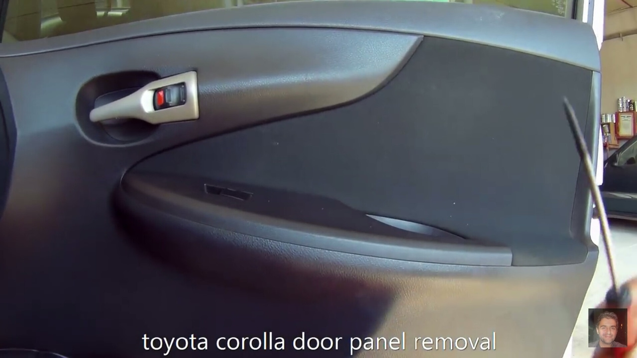Toyota Corolla 2006 2013 Door Panel Removal Youtube