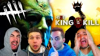 DEAD BY DAYLIGHT vs H1Z1 GAMEPLAY ESPAÑOL THE KING OF THE KILL BATTLE ROYALE