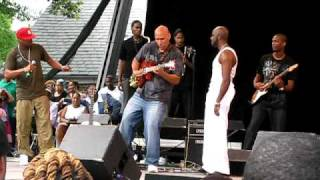 Summerstage Ginuwine Joe Chico Debarge MJ Tribute