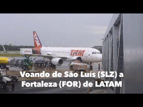 VOANDO DE SÃO LUÍS A FORTALEZA DE LATAM BRASIL + SOBREVOO NOS LENÇÓIS MARANHENSES - FLIGHT REPORT