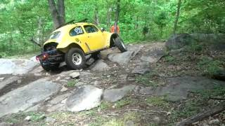 64 VW baja  giving its all