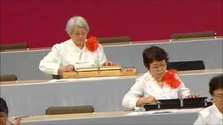 江戸川区総合文化センターの、第29回「東京大会」から。