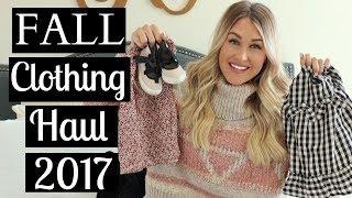 TODDLER & BABY GIRL FALL/WINTER CLOTHING HAUL 2017 Part 1 | Tara Henderson