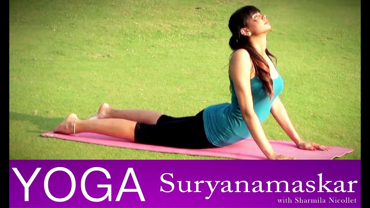 How To Do Surya Namaskar Yoga Workout Telugu Episode 3 Youtube