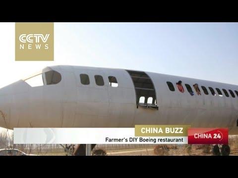 Henan farmer builds Boeing jet replica