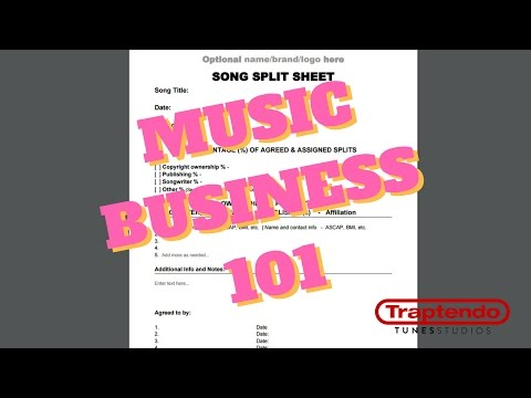 How to Use a Split Sheet and a Great Music Business Book