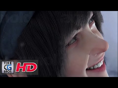 "CGI 3D Demo HD:  ""Stina & the Wolf""  by - Foam Digital"