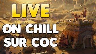 Clash of Clans- LIVE GDC AVES MES COMPTES HDV 9-10-11-12