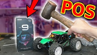 Don't buy this!!! Gopro Hero 9 & Cheap RC Car