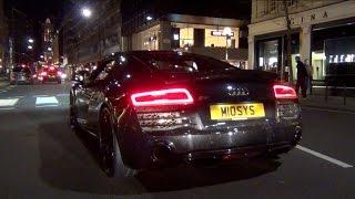 2014 Audi R8 V8 w/IPE BRUTAL Exhaust Sounds!