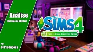 Análise - The Sims 4 - Noite de Cinema - Coleção de Objetos