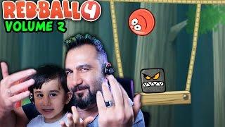 KIRMIZI TOP 4 VOLUME 2 BAŞLIYORUZ!| RED BALL 4 OYNUYORUZ