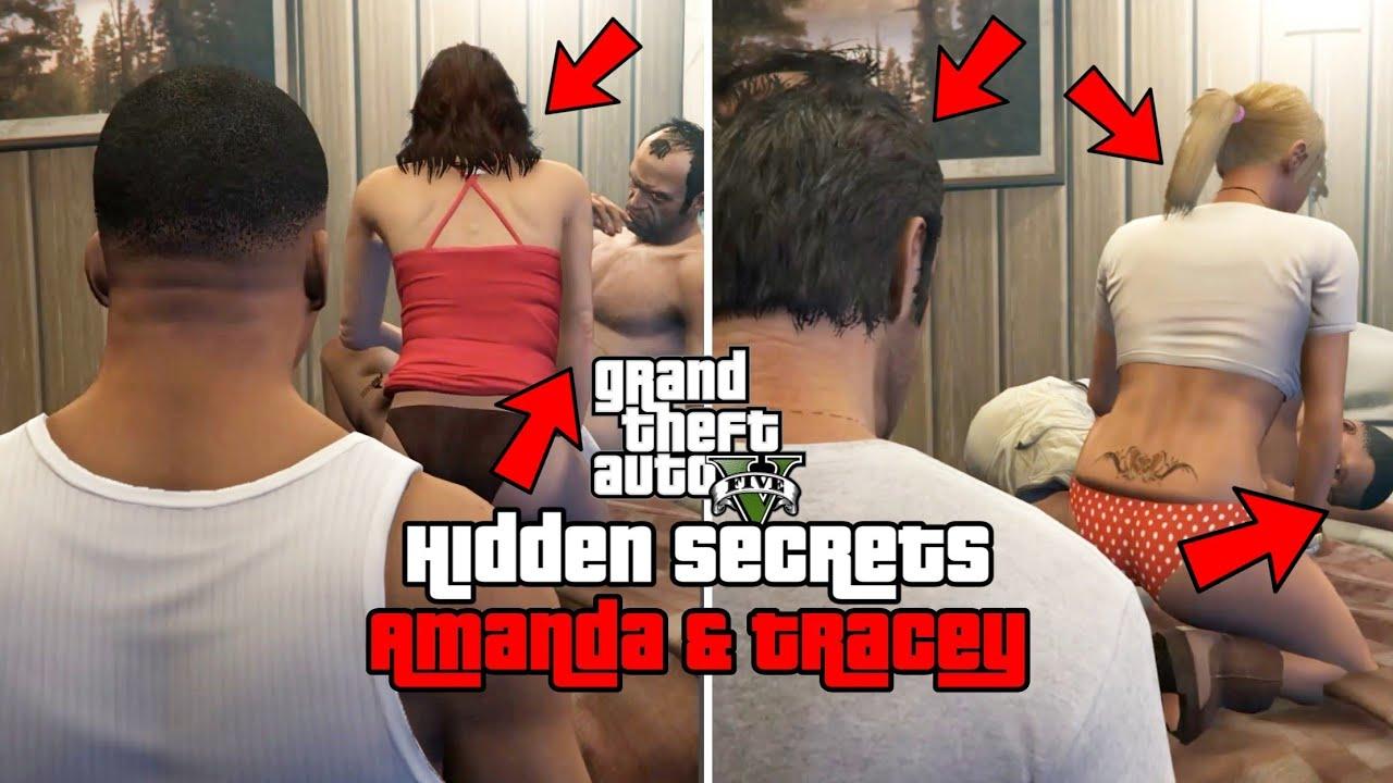 GTA 5 - Hidden Secrets of Amanda & Tracey!