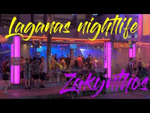 Laganas Nightlife 2018 June  Zakynthos