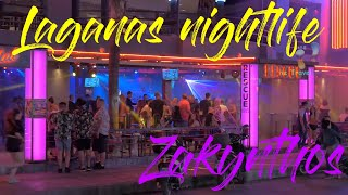 Laganas Nightlife 2018 June  Zakynthos