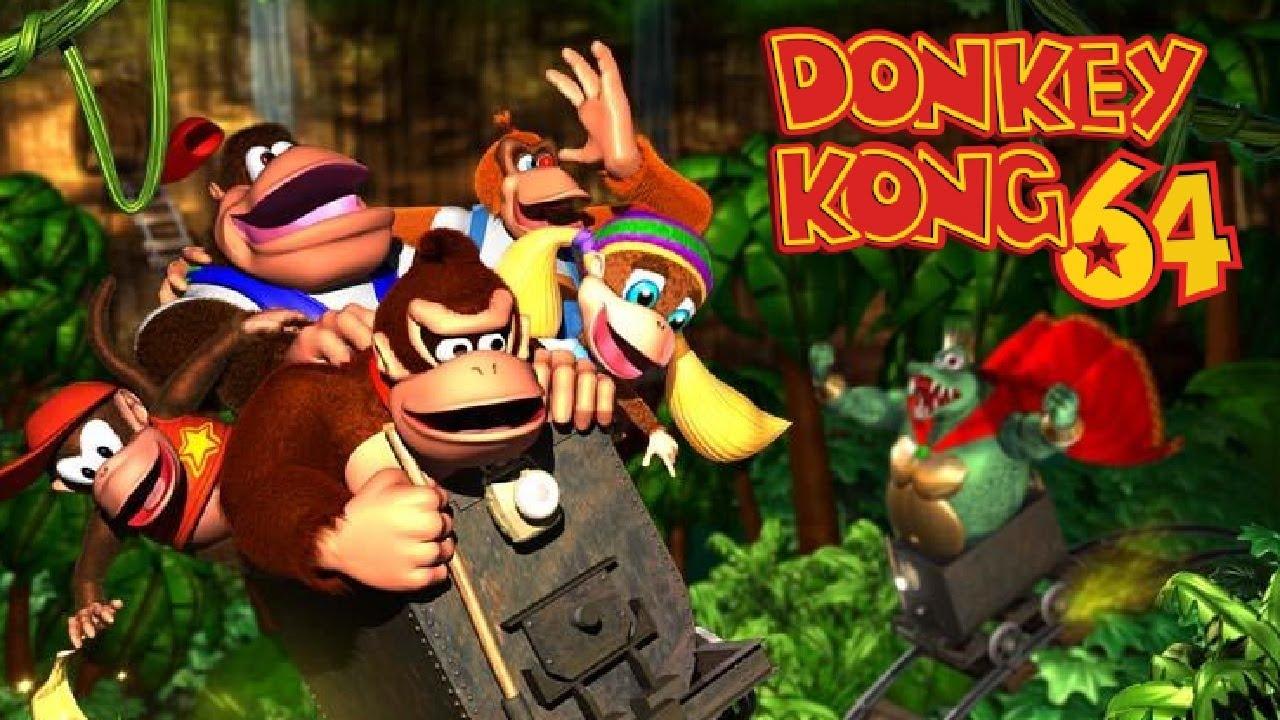 Donkey Kong 64 - Full Game 101% Walkthrough