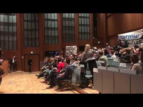 Protest bei Vortrag von Wendt in Kölner Uni