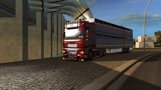 J'ai roulé avec la bétaillère Wendigo Truck Service