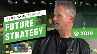Xbox Game Studios Head, Matt Booty on Future Strategy - IGN Live | X019