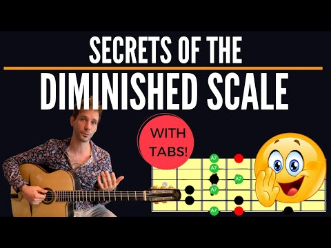 SECRETS of The Diminished Scale - Playing Over Dominant 7 Chords