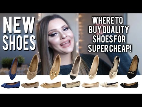 New Shoes! Where to buy quality shoes for super cheap!
