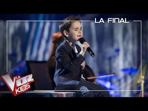 Daniel García algecireño de 7 años,  subcampeón de La Voz Kids en Antena 3
