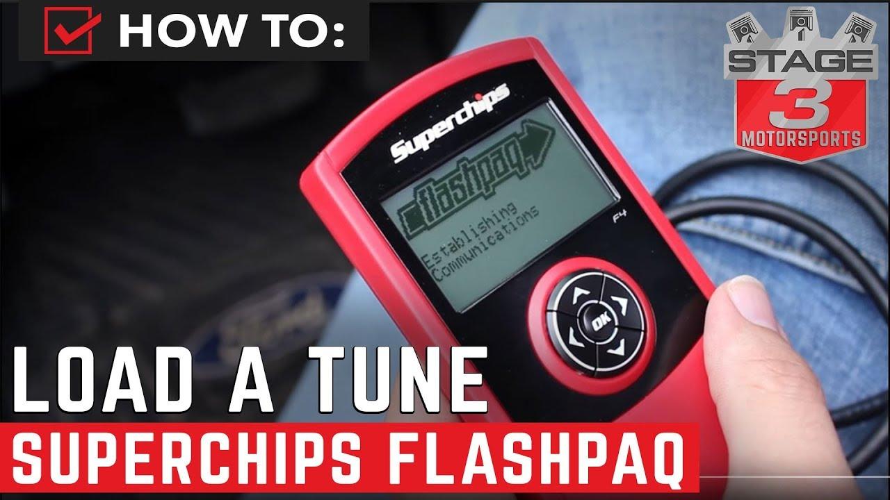 1996-2014 Ford SuperChips CARB Flashpaq F5 Handheld Tuner