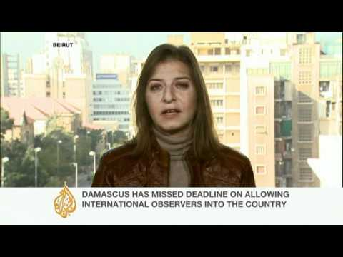 "Arab League sanctions ""likely to affect Syria"""